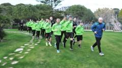 Тонизираща тренировка за Берое в Турция