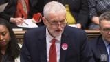 Корбин: Парламентът да поеме контрол над Брекзит