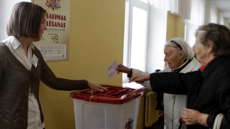 6 партии в парламента на Латвия, превес на проевропейския вот
