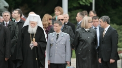 Свeти Георги е винаги близо до нас, настоя патриарх Неофит пред армията