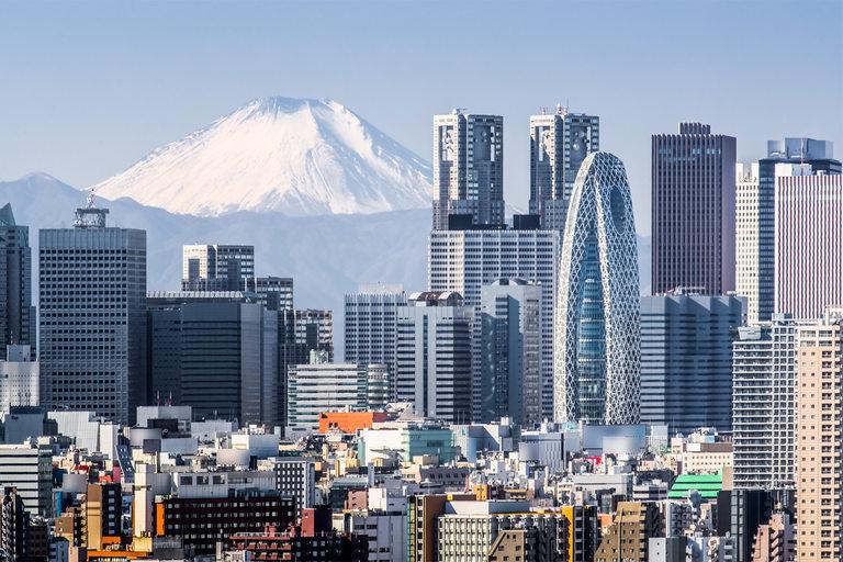 Свещената планина Фуджи, един от символите на Япония