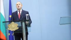 Радев налага частично вето върху закона за извънредното положение