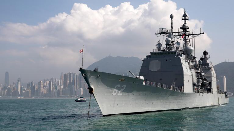 Действията на бойните кораби на САЩ са под наблюдение, обяви