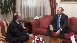 Президентът прие американския посланик в София