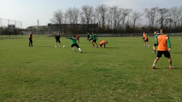 Футболистите на Нефтохимик проведоха първата си тренировка за тази седмица,
