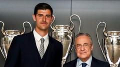Тибо Куртоа подписа нов договор с Реал (Мадрид)