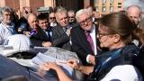 Топ дипломатите на Германия и Франция с първо посещение в Източна Украйна