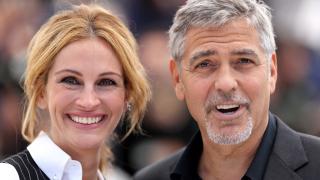 Джордж Клуни и Джулия Робъртс завладяха Кан (СНИМКИ)