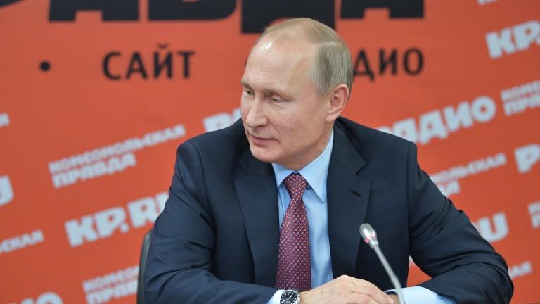 Путин: Готови сме да върнем бойни кораби и самолети на Украйна от Крим