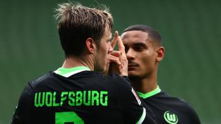 Волфсбург държи здраво третото място