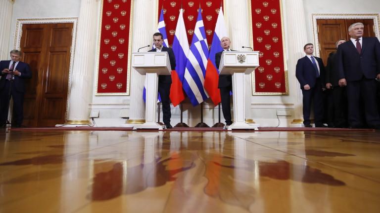 Ципрас изрази притеснения пред Путин от продажбата на руско оръжие на Турция