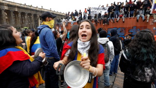 Колумбия наложи комендантски час на фона на протести