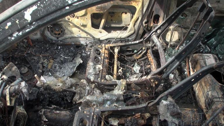 Още една кола горя в Галиче