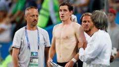 Себастиан Руди е със счупен нос след драмата с Швеция