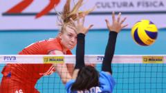 Младите волейболистки са осми в света