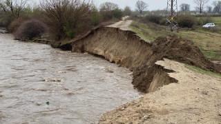 Бедствено положение в Септември заради разрушените диги на Марица