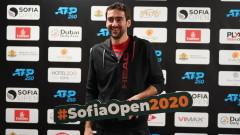 Чилич посочи фаворита за титлата на Sofia Open
