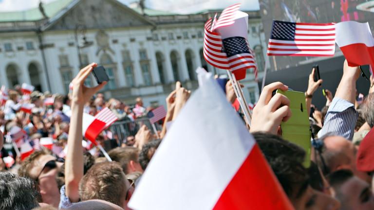 САЩ командва армията си в източния фланг на Европа от Полша