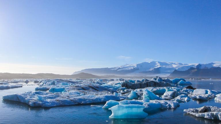 Учени са открили доказателства, че залежите от замразенметан в Северния