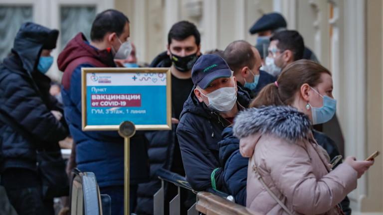 Броят на официално регистрираните заразени с новия коронавирус (COVID-19) през