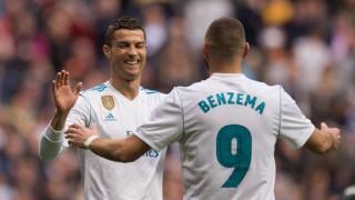 Реал (Мадрид) - Севиля 5:0 (Развой на срещата по минути)