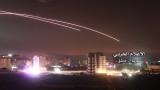 Видео показва прихващането на израелски ракети в Сирия