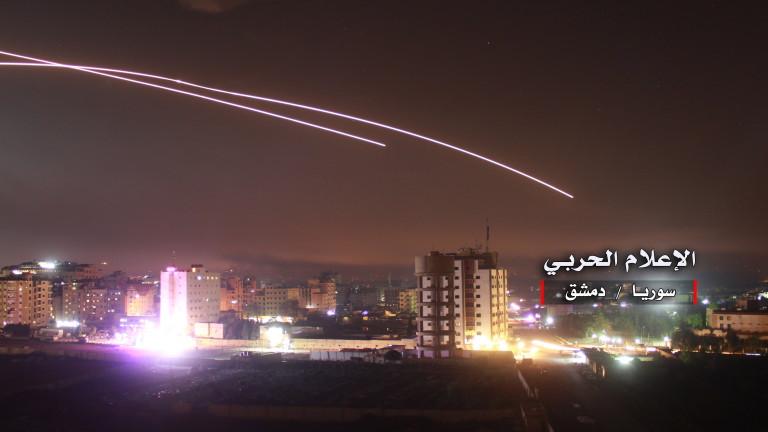 Експлозия в Дамаск, Сирия обвини Израел