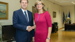 Двустранните отношения и европредседателството обсъдиха Захариева и Церар