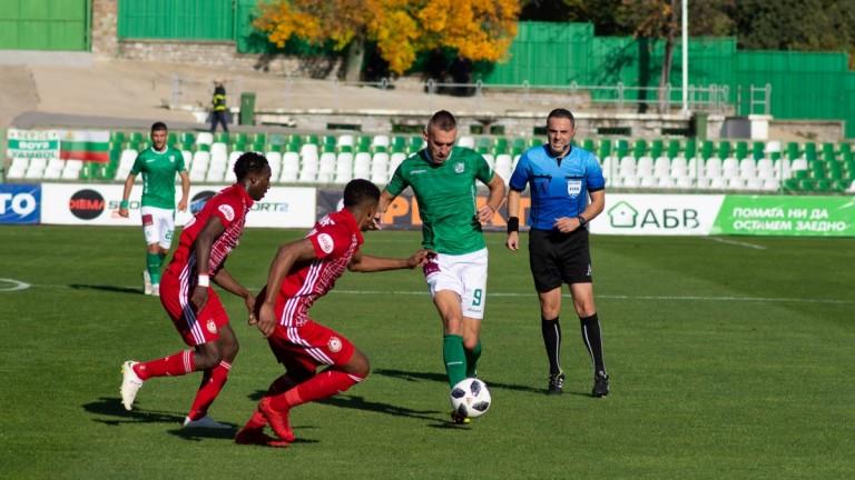 Берое - ЦСКА 1:1, Мауридеш с несериозно изпълнение на дузпа