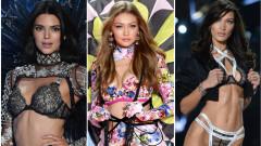 Секси, по-секси, най-секси - най-високоплатените модели за 2018 г.