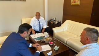 Борисов нареди да започне брегоукрепване по протежението на Бяла