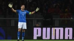 Италия и Македония завършиха 1:1
