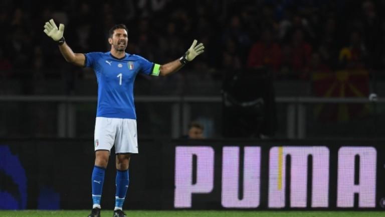 Буфон се завръща в игра за националния отбор на Италия?