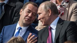 Единна Русия подкрепя Путин на изборите