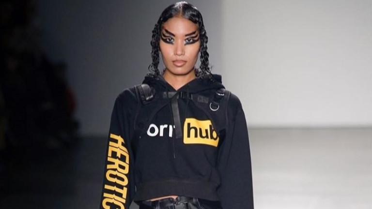 Pornhub на модния подиум