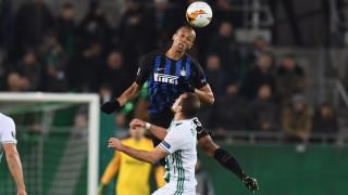 Интер взе комфортна преднина срещу Рапид (Виена)