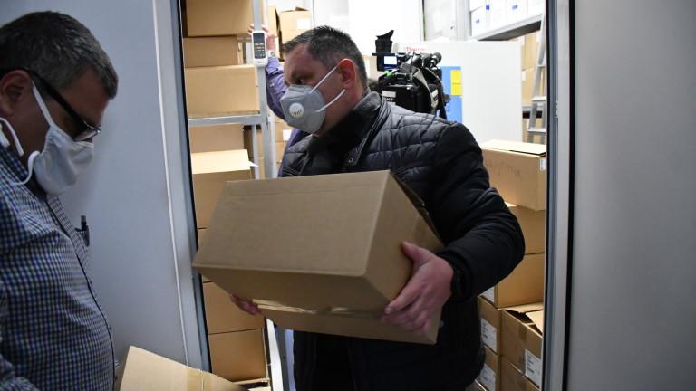 Разпределени са над 8000 дози Ремдисивир, в склада на Бул