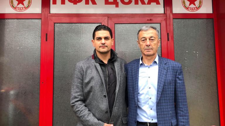Адвокат Радостин Василев стана поредният кредитор на ЦСКА, който подпомогна