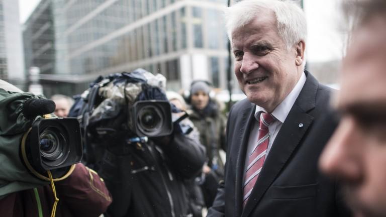 Лидерът на Християнсоциалния съюз, баварският съюзник на консерваторите на канцлера
