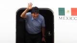 Ево Моралес пристигна в Аржентина като бежанец