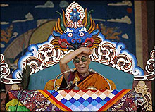 Далай Лама защити китайския нобелист