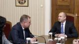 Президентът и председателят на ВАС обсъдиха промени в Конституцията