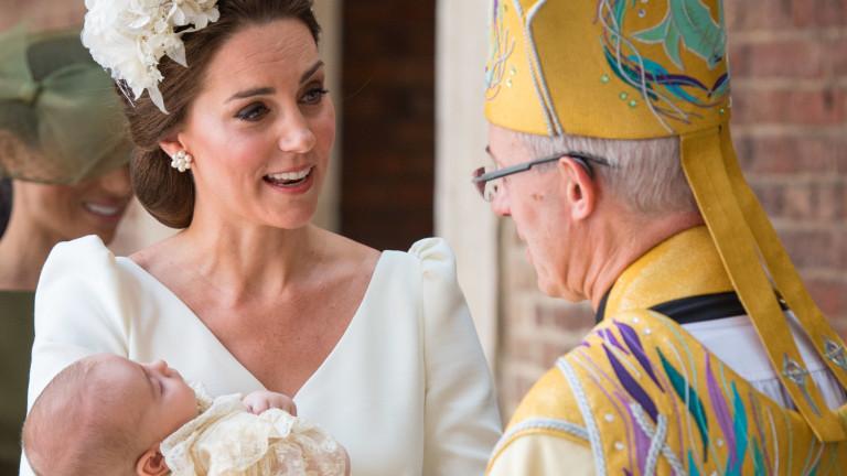 Кръщенето на принц Луис, Кейт и леля Меган