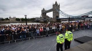 Евакуираха Окото на Лондон заради снаряд от войните