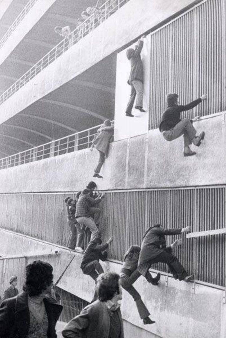 "Как да влезеш на мач на ""Сан Сиро"" през 70-те години..."