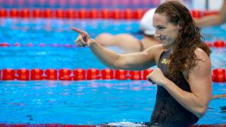 """Катинка Хошу спечели 43 хиляди долара от """"шампионските плувни серии"""""""