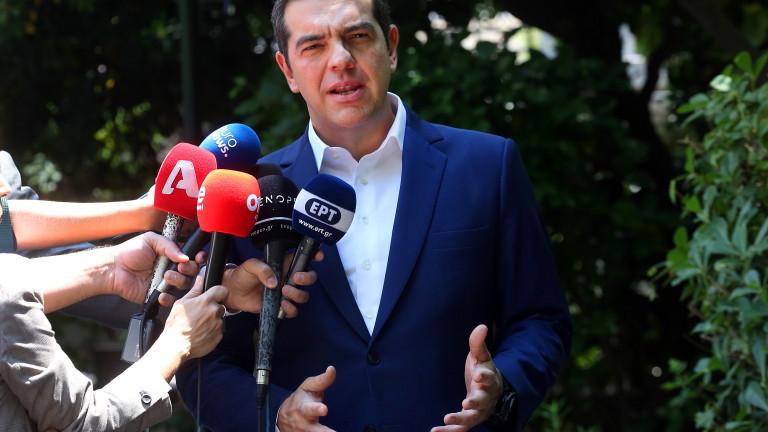 Ципрас поиска разпускане на парламента и насрочване на избори
