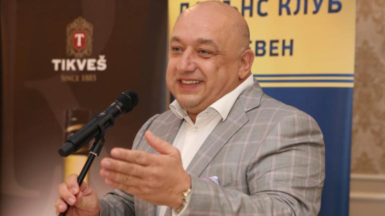 Министърът на младежта и спорта Красен Кралев се включи в