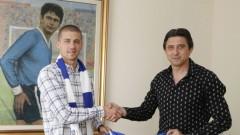 Георги Ангелов пред ТОПСПОРТ: Не съм разтрогнал с Левски и няма никакъв трансфер