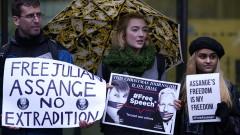 Следващия месец изслушват Асандж за екстрадиция в САЩ